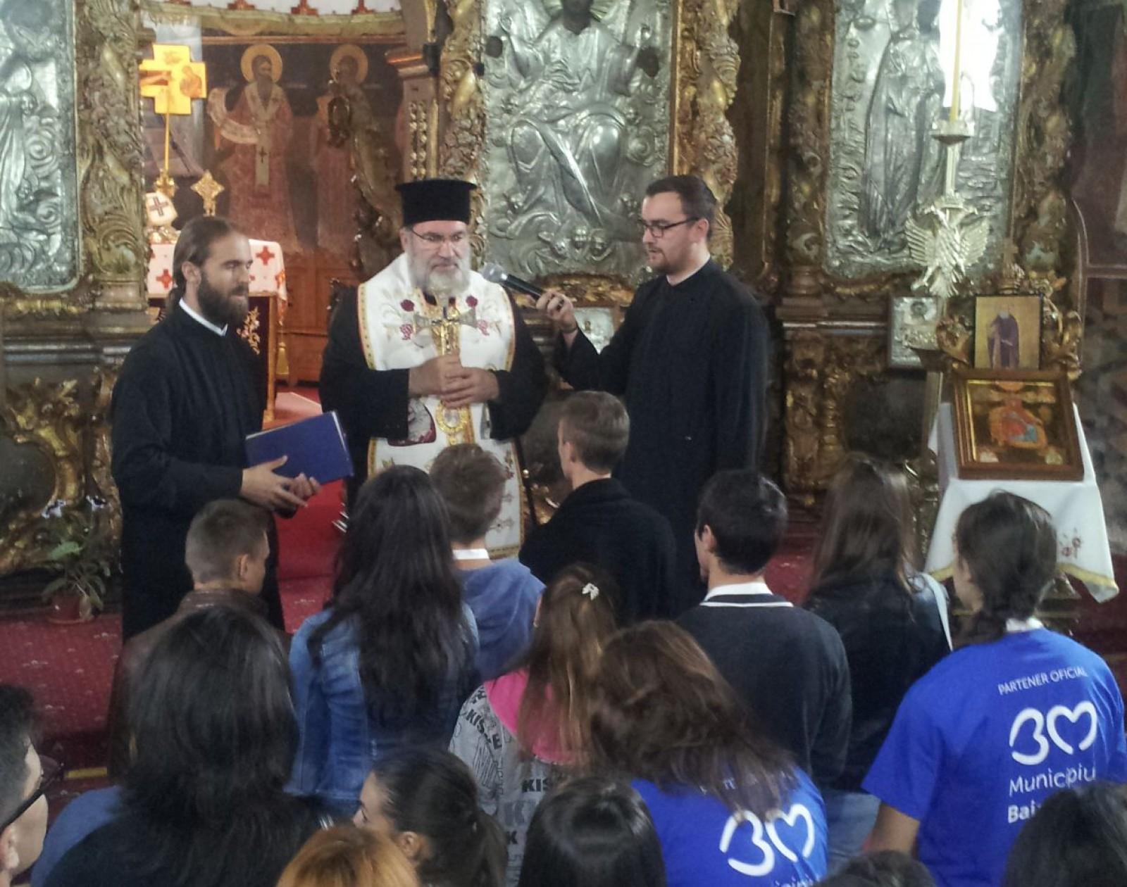 Tineri din A.R.B. la Reuniunea Națională a Tinerilor Ortodocși – Baia Mare 1