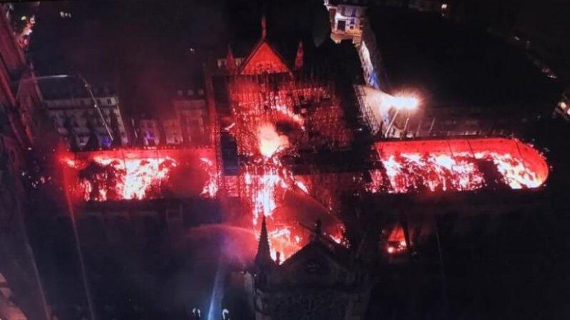 incendiu_notre-dame_din_drona