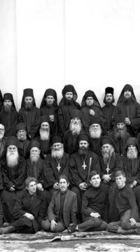 1970-obstea-manastirii-sihastria-in-1970